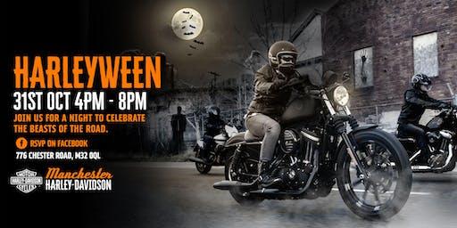Harleyween at Manchester Harley-Davidson 2019