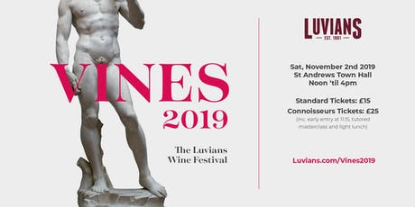 Vines 2019 - The Luvians Wine Fair tickets