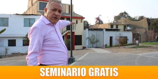 Seminario GRATIS : Cómo Adquirir propiedades Debajo de su Valor Comercial