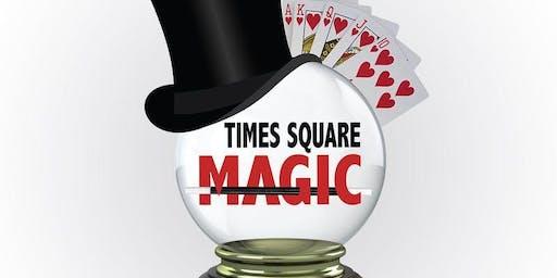 Times Square Magic Show