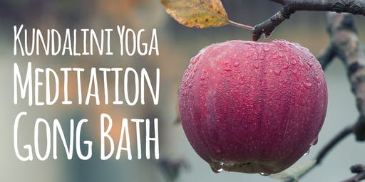 Celebrate Fall Equinox with Kundalini Yoga, Meditation & Gong Bath