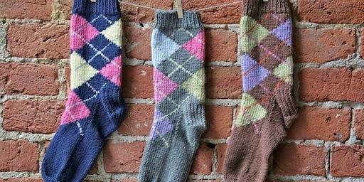 Knitting Addictive Argyle!