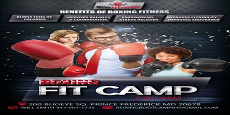 BOXING FIT CAMP  tickets