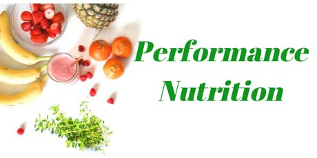 Performance Nutrition tickets