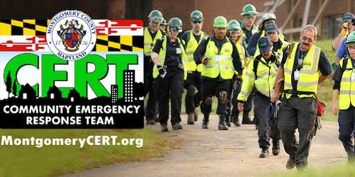 Community Emergency Response Team (CERT) Basic Course: Pre-Registration