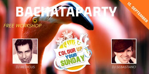 Colour up Bachataparty - Flamazing Edition