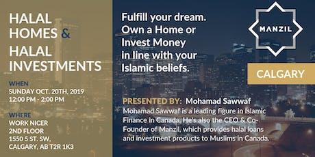 Calgary Seminar: Halal Homes & Investments tickets
