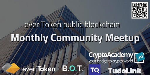 everiToken Public Blockchain | Monthly Community Meetup September