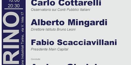 Prospettive per l'Italia con il governo giallo rosso biglietti