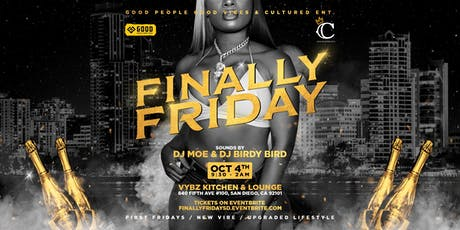 """Cultured Ent. and GPGV presents """"Finally Friday"""" tickets"""