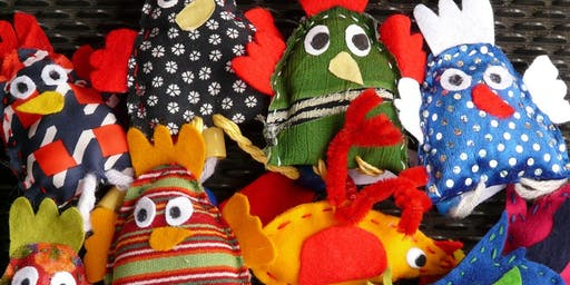 Culture Night Puppet Theatre with Martina Collender (Age 4-7)