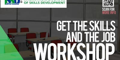 Get The Skills And Get  Jobs Workshop
