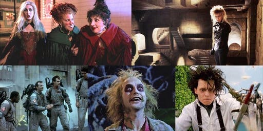 Halloween Outdoor Movie in Dolores Park [Mission]