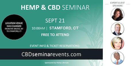 HEMP & CBD SEMINAR   Stamford, CT tickets