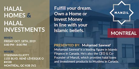 Montréal Seminar: Halal Homes & Investments billets