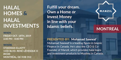Montréal Seminar: Halal Homes & Investments