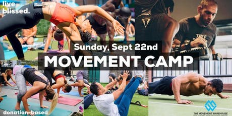 MOVEMENT CAMP tickets