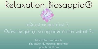 Découvrir la Relaxation Biosappia® pour les plus jeunes  - St Priest