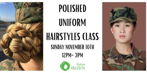 Polished Uniform Hairstyles Class