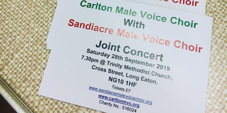 An Evening of Entertainment, Male Voice Choir Style tickets