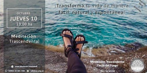 Río Grande - Charla Informativa sobre Meditación Trascendental