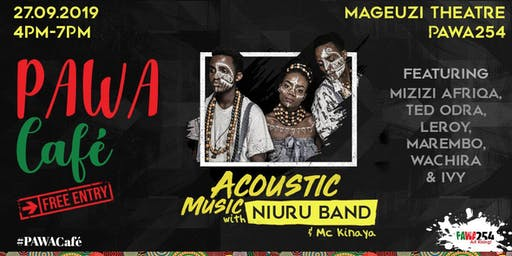 PAWA Cafe - Acoustic with Niuru Band