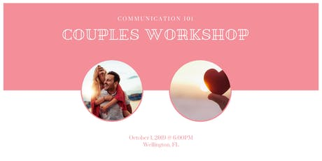 Couples Communication 101 Workshop tickets
