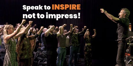 The Art of Public Speaking  - Speak to inspire, not to impress! tickets
