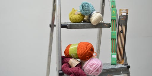 Learn to knit a 'cabled' hat