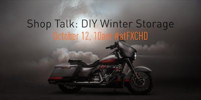 Shop Talk: DIY Motorcycle Storage