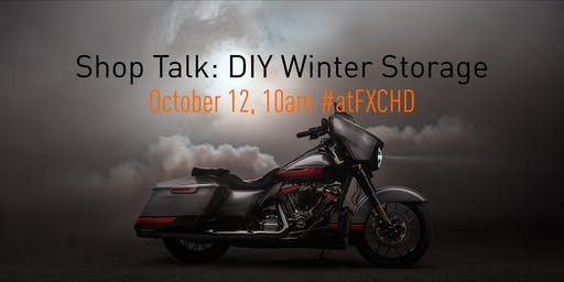 Shop Talk: DIY Motorcycle Storage