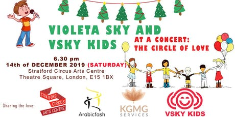 Violeta Sky and VSKY KIDS concert: THE CIRCLE OF LOVE tickets