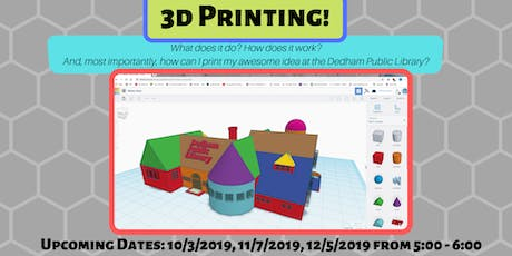 3D Printing for Kids tickets