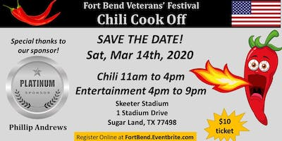 Fort Bend Veterans' Festival Chili Cook Off