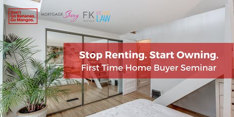 Stop Renting. Start Owning. tickets