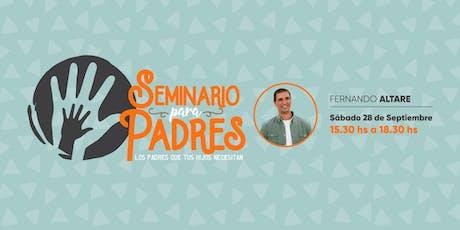Seminario para padres en Mendoza entradas