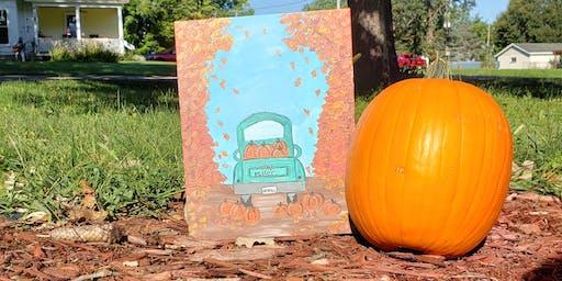 Harvest Truck Paint Night