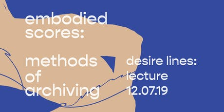 Desire Lines: Lecture tickets