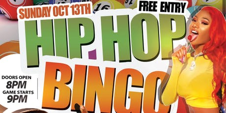 HIP-HOP BINGO tickets