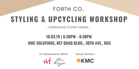 Styling & Upcycling Workshop - Conscious Closet Series tickets