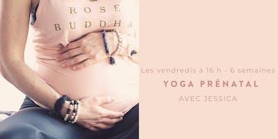 Yoga prénatal avec Jessica