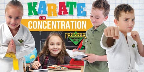 FREE Children's KARATE for CONCENTRATION Beginner's Martial Arts Workshop tickets