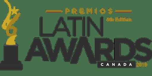 Latin Awards Canada 2019