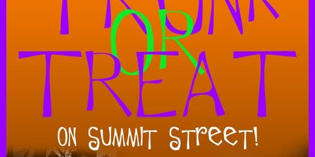 Trunk Or Treat on Summit Street tickets