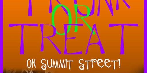 Trunk Or Treat on Summit Street