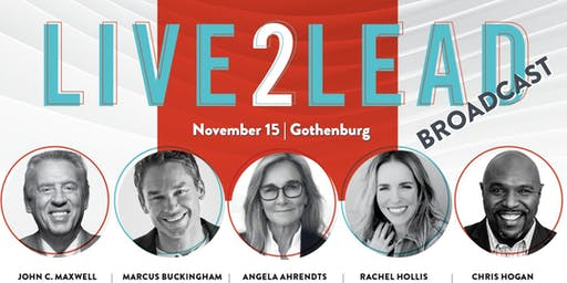 Live2Lead Broadcast - How Successful People Think - Gothenburg