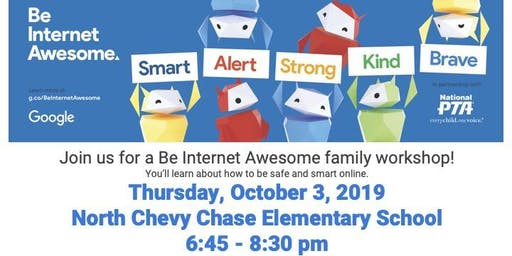 Be Internet Awesome Family Workshop