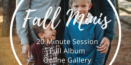 Brevity Photography Fall Mini Sessions tickets