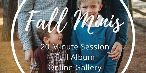 Brevity Photography Fall Mini Sessions