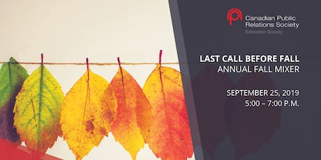 Last Call Before Fall Annual Mixer tickets